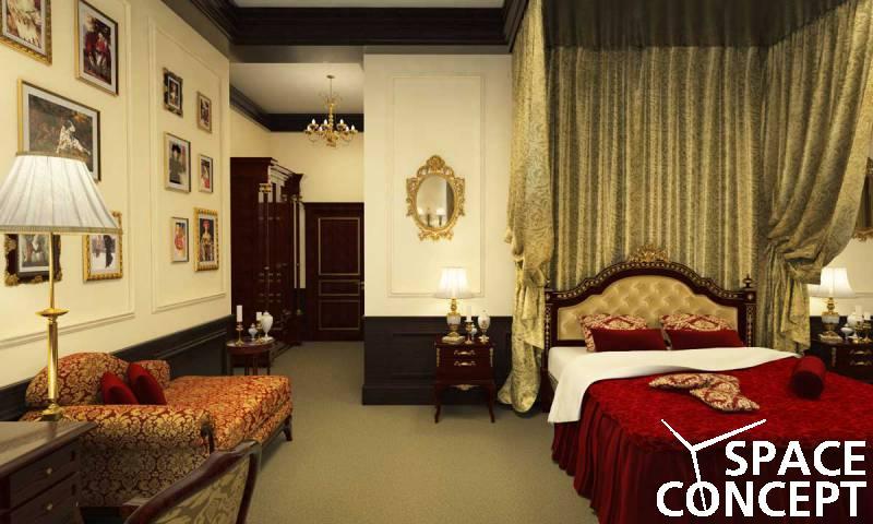 Amenajari camere hotel design interior space concept for Camere hotel design