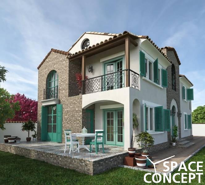 Proiecte case arhitectura mediteraneana casa sector 4 for Arhitectura case cu mansarda