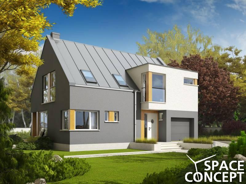 Proiect casa moderna antek space concept for Casa moderna romania