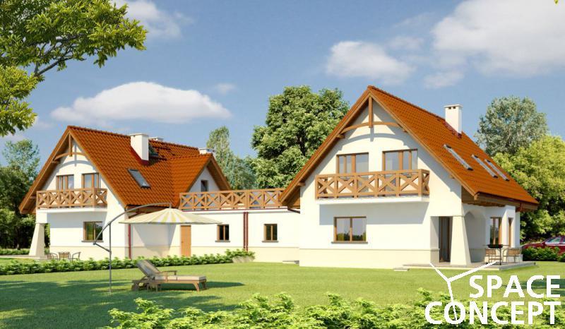 Proiecte case duplex carolinca g2 space concept for Modele de duplex