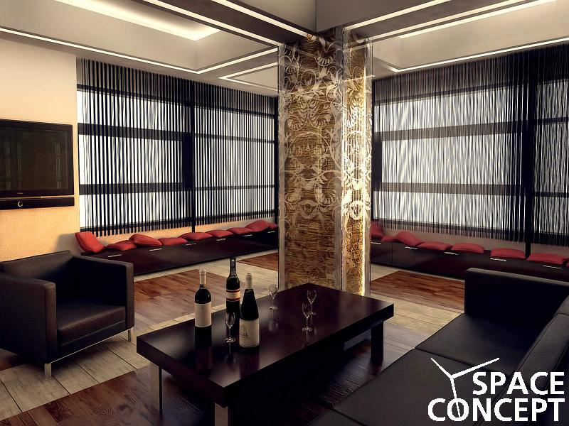 Proiect amenajari interioare apartament space concept - Intorio dijayin ...