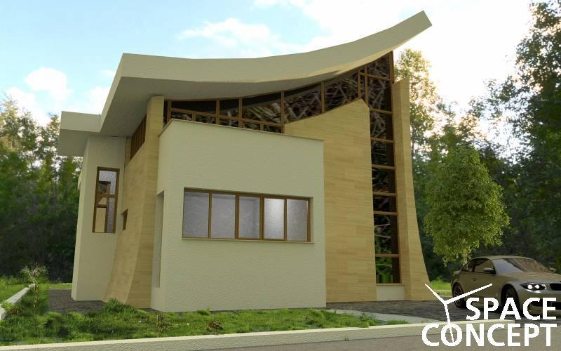 Proiecte case moderne casa cu etaj space concept for Imagini case moderne
