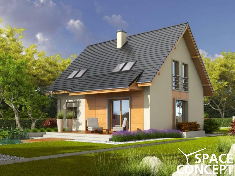 Proiect casa mansarda adriana iii a space concept for Casa la tara ieftina