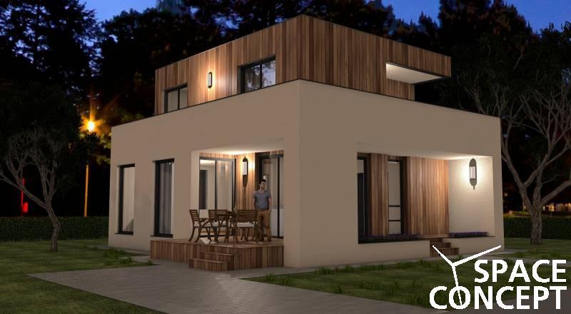 Proiect casa moderna space concept for Proiect casa clasica b 178 m