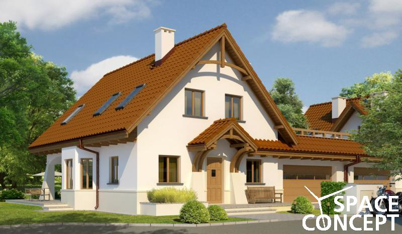 Proiecte case duplex carolinca g2 space concept for Arhitectura case cu mansarda