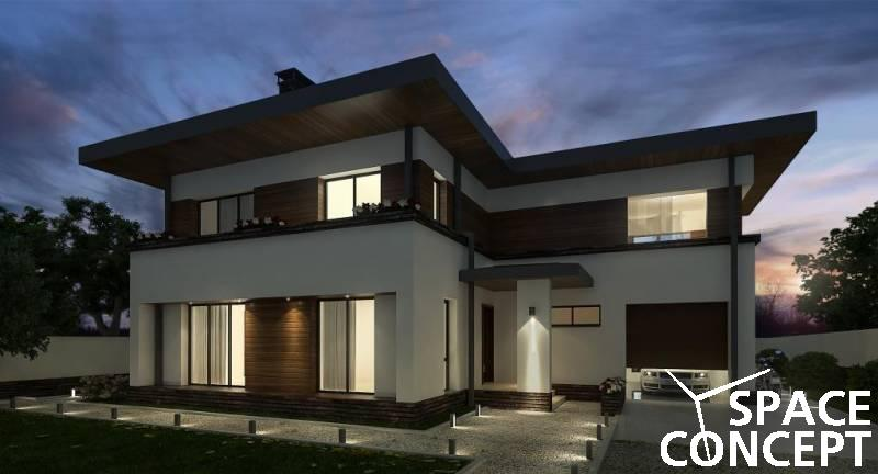 Proiect casa cu etaj jilava space concept for Case cu etaj
